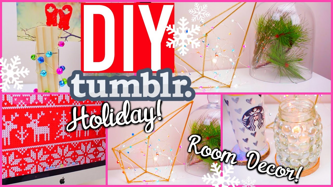 DIY Holiday Room Decorations! Cute & Easy Decor Ideas!