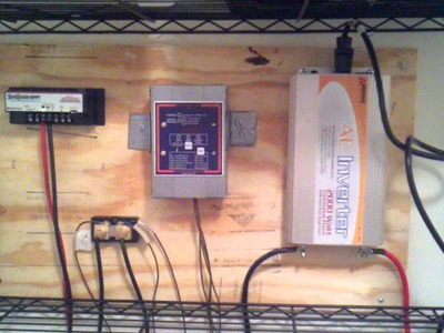 DIY - Home Solar Power Part  #1