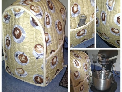 DIY How to make a Kitchen Aid Cover
