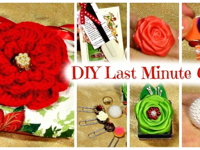 DIY Last Minute Gifts, Tutorials, How to Make