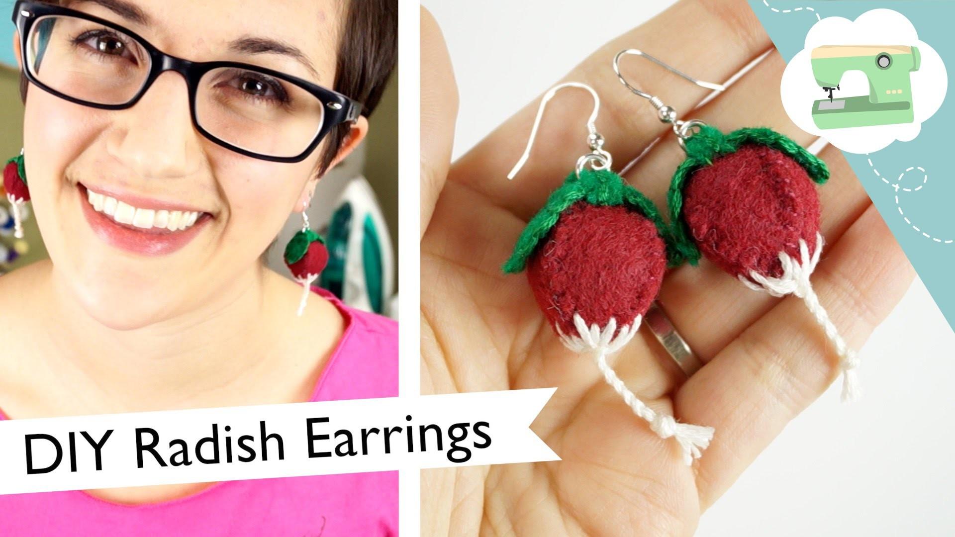 DIY Luna's Radish Earrings (collab with NerdECrafter)