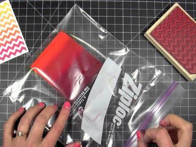 DIY Ombre Ink Pad Tutorial