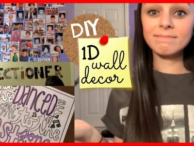 DIY One Direction Wall Decor