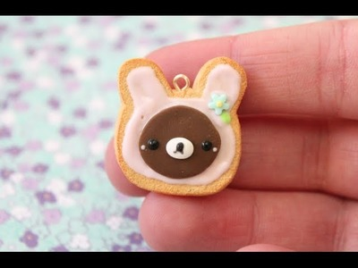 ✿ DIY Rilakkuma Cookie Polymer Clay Tutorial ✿