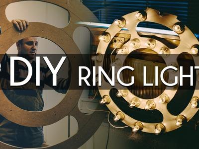 DIY Ring Light Tutorial