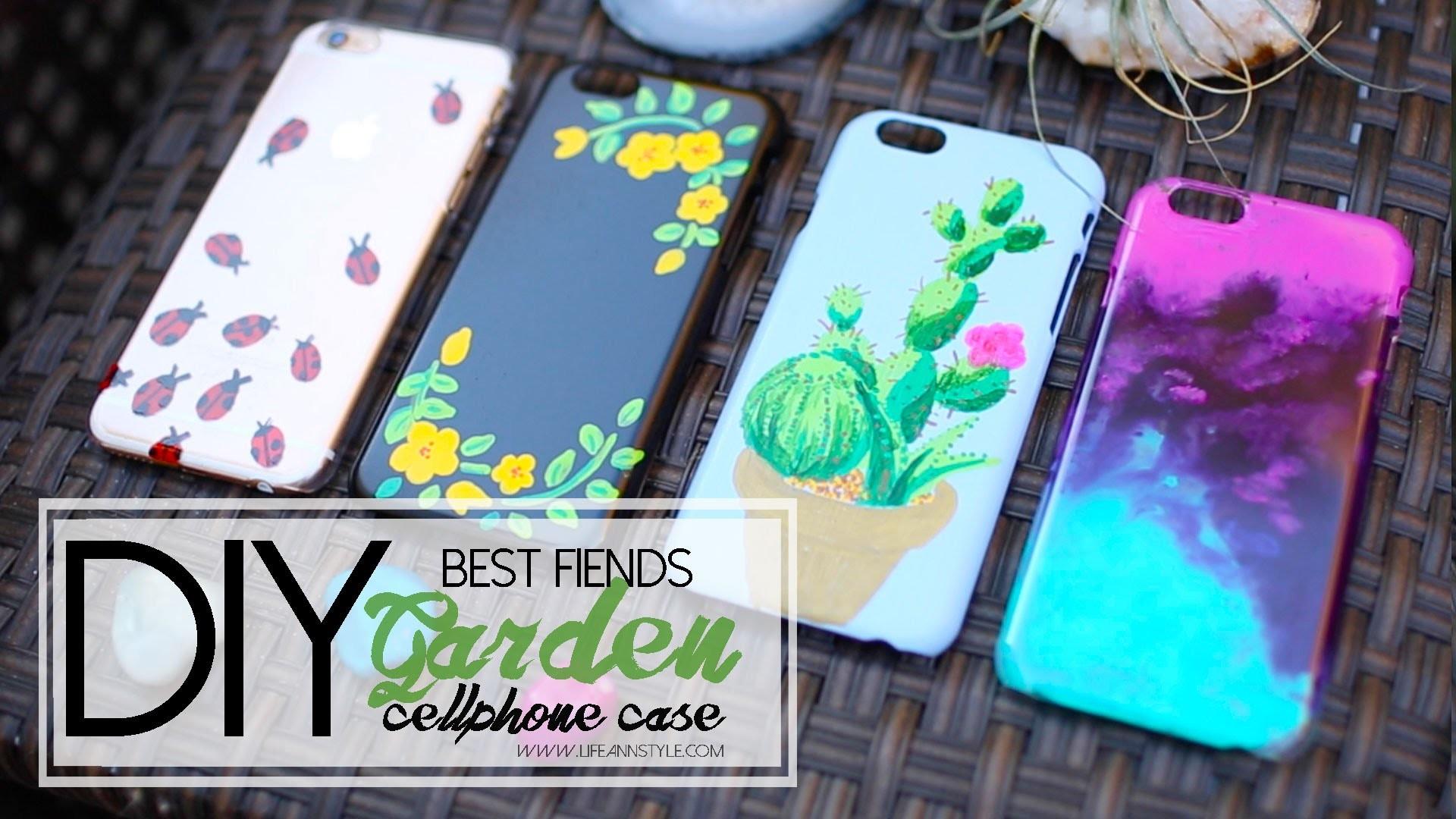 DIY Sharpie Paint Cellphone Case - Best Fiends | ANNEORSHINE