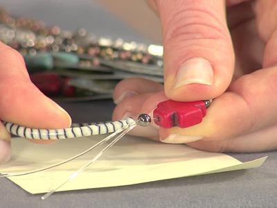 DIY Stretch Tube Bracelet