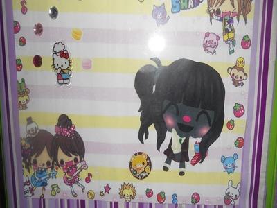 "DIY: Super Cute ""Kawaii"" Binder!"