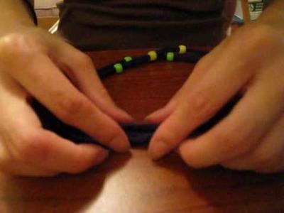 DIY: T-shirt Bracelet & Headband Part 1