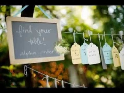 Easy Diy outdoor wedding decorations projects ideas