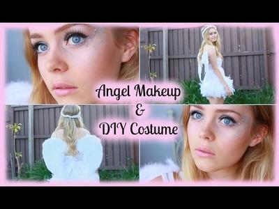 Halloween | Angel Makeup & DIY Costume