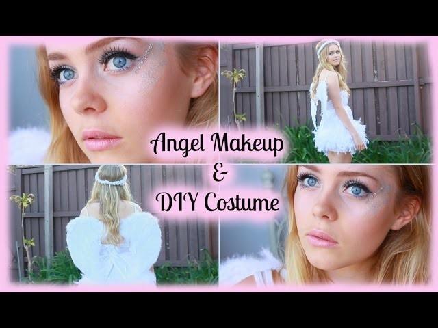 Halloween Angel Makeup Diy Costume
