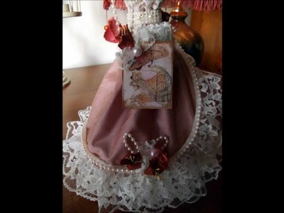 Handmade lavender cushions,victorian tags,& crafts made by jackie