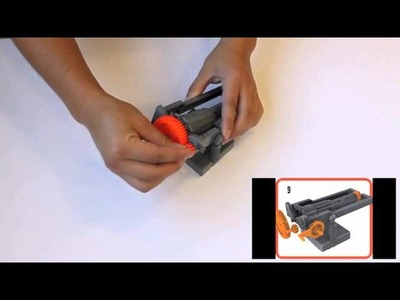 How to Assemble the Boy Craft Extreme Rubber Band Blaster!