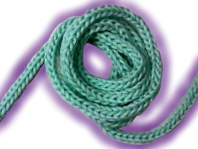How to crochet a bikini [2] i-cord lefty tutorial
