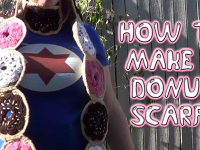 How to Crochet a Donut Scarf! | Inspired by The Simpsons