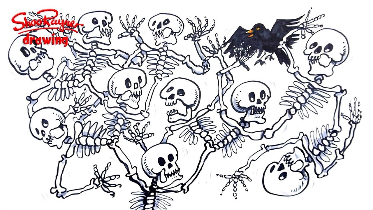 How to draw a Skeleton Tree