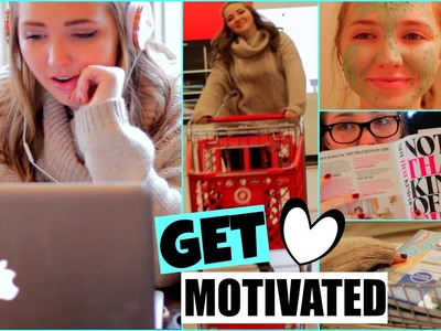 How To Get Motivated For the New Year! Ideas, DIYs, & more