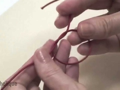 How to: Knots for Bead Jewelry