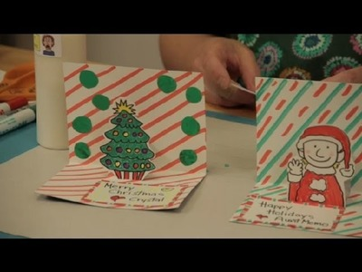 How to Make 3-D Christmas Cards : Christmas Crafts