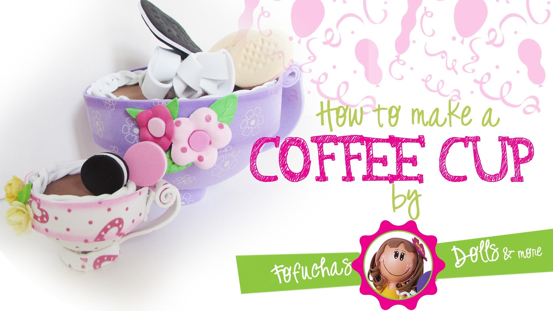 How to make a coffee cup with foam craft