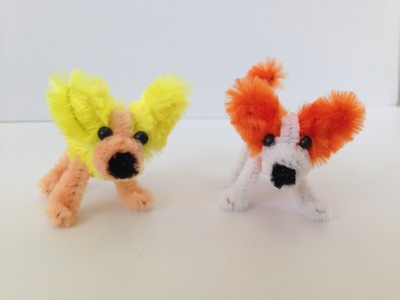 How to Make a Pipe Cleaner Dog