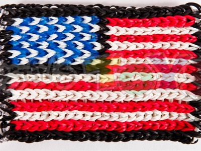 How to Make a Rainbow Loom Flag, Blanket, Picture from a 2D Image, Concept: Transferring