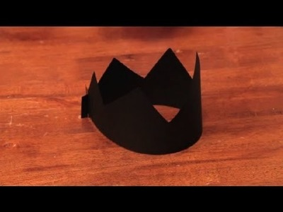 How to Make a Regular, Life-Sized King's Crown Out of Paper Only : Arts & Crafts