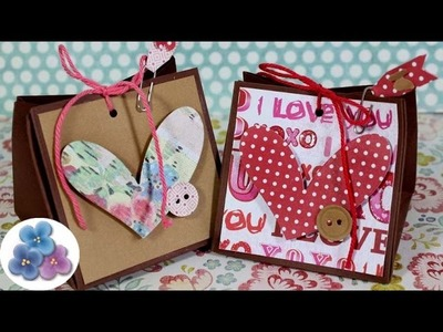 How to make Paper Gift Bags EASY DIY  Mathie