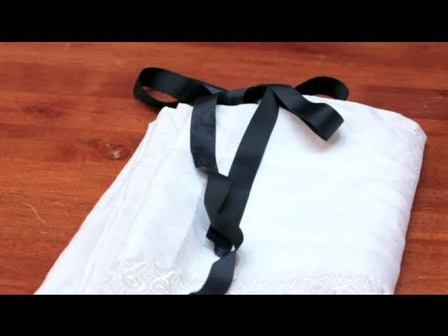 How to Use Ribbon on Shower Curtains : DIY Crafts