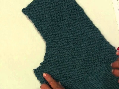 Knit Along Simple Spring Swing Cardigan  Part 2