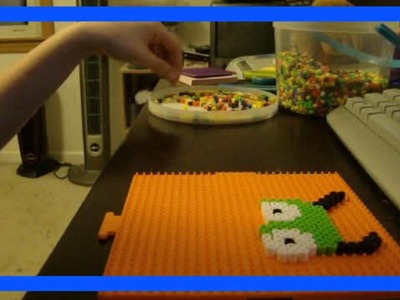 Making Gir out of Perler Beads