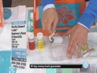 Martha Stewart Crafts Beginner's Paint and Stencil Kit