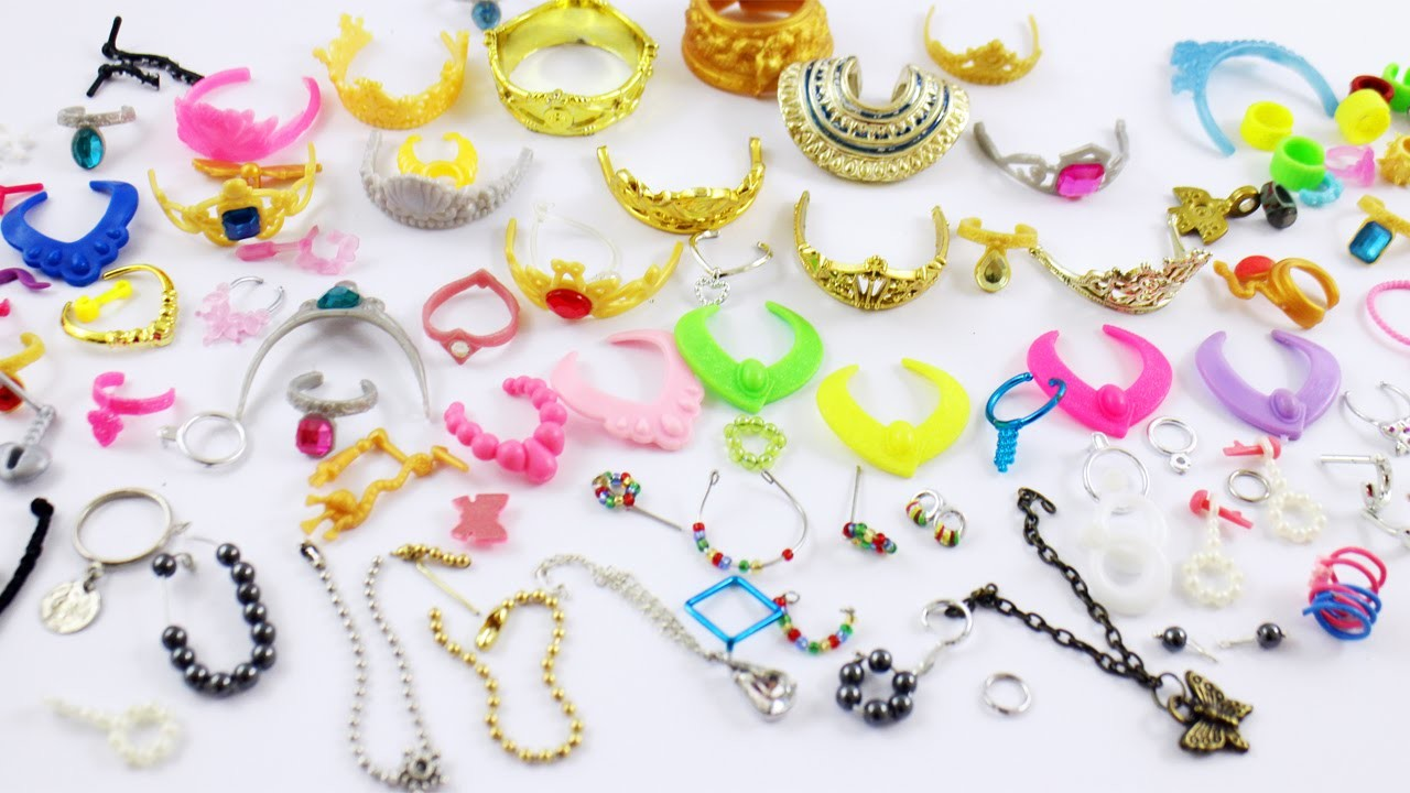 My Doll Jewelry Collection- Doll Crafts