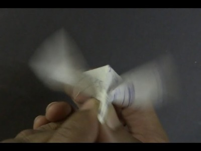 Paper Bird Tutorial - Origami Flapping Bird