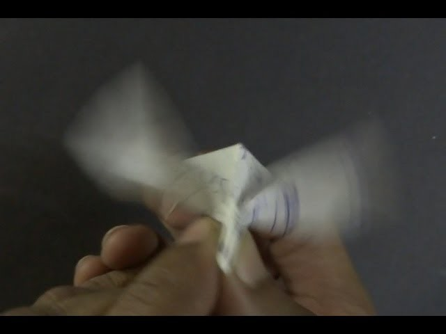 Paper Bird Tutorial - Origami Flapping Bird