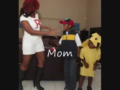 "Pokemon Costumes ""Ash and Pikachu""  DIY"
