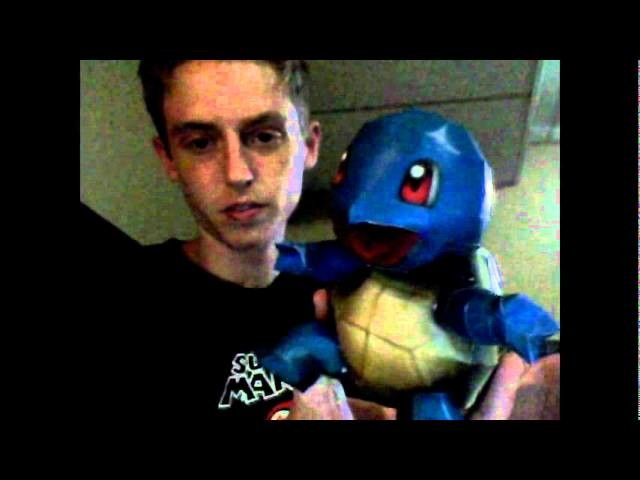 Pokemon Papercraft Video