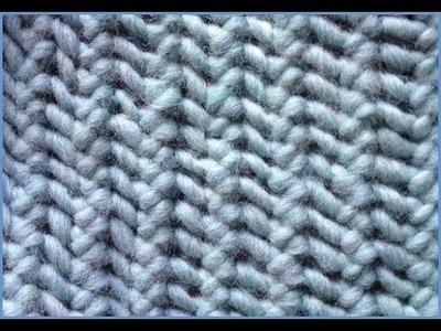 Purse Stitch Lace - Knitting Simple Lace