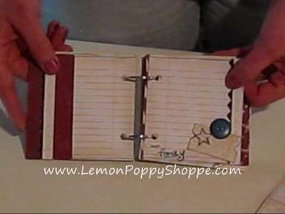 Scrapbook Project - 4th of July Mini Book