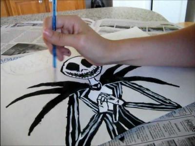 Speed Paint Jack Skellington