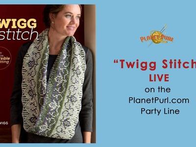 """""""Twigg Stitch"""" with Vicki Twigg on the Party Line 11-20-14,"""