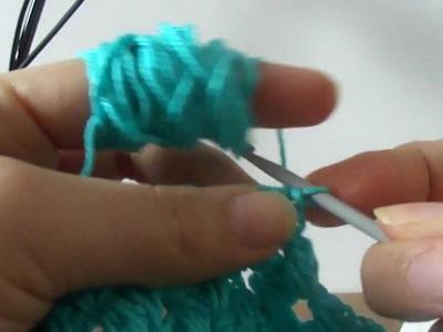 X-stitch crochet