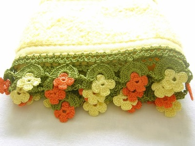 (1) Towel Lace Crochet Edge Patterns Models Designs New Trends