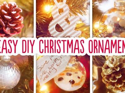 6 Easy DIY Christmas Ornaments