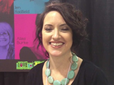 Alisa Burke on Redefining Creativity at the 2012 Craft and Hobby Association Tradeshow