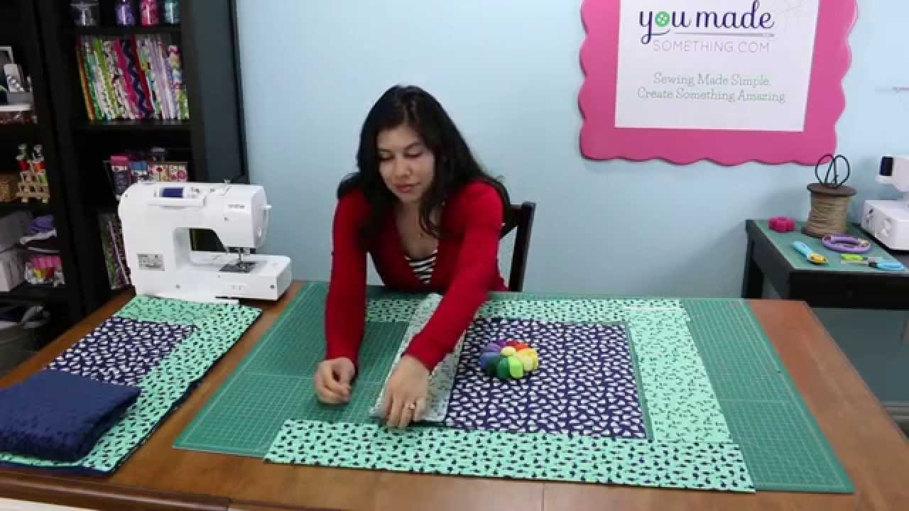 Baby Blanket Sewing Tutorial - Soft, Snuggly, and So Much Fun!