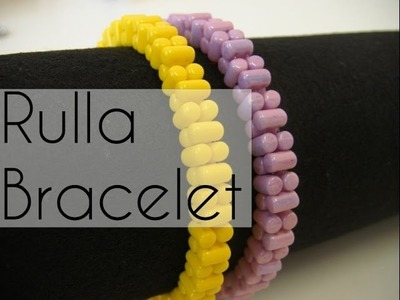 Beading Ideas -Rulla beads Bracelet