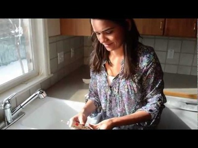 Best way to Caulk with silicone - Easy and no mess !!