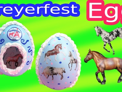 Breyer Horses DIY Breyerfest 2015 Easter EGG Special Runs Haute Couture Enchante Breyers Horse Craft
